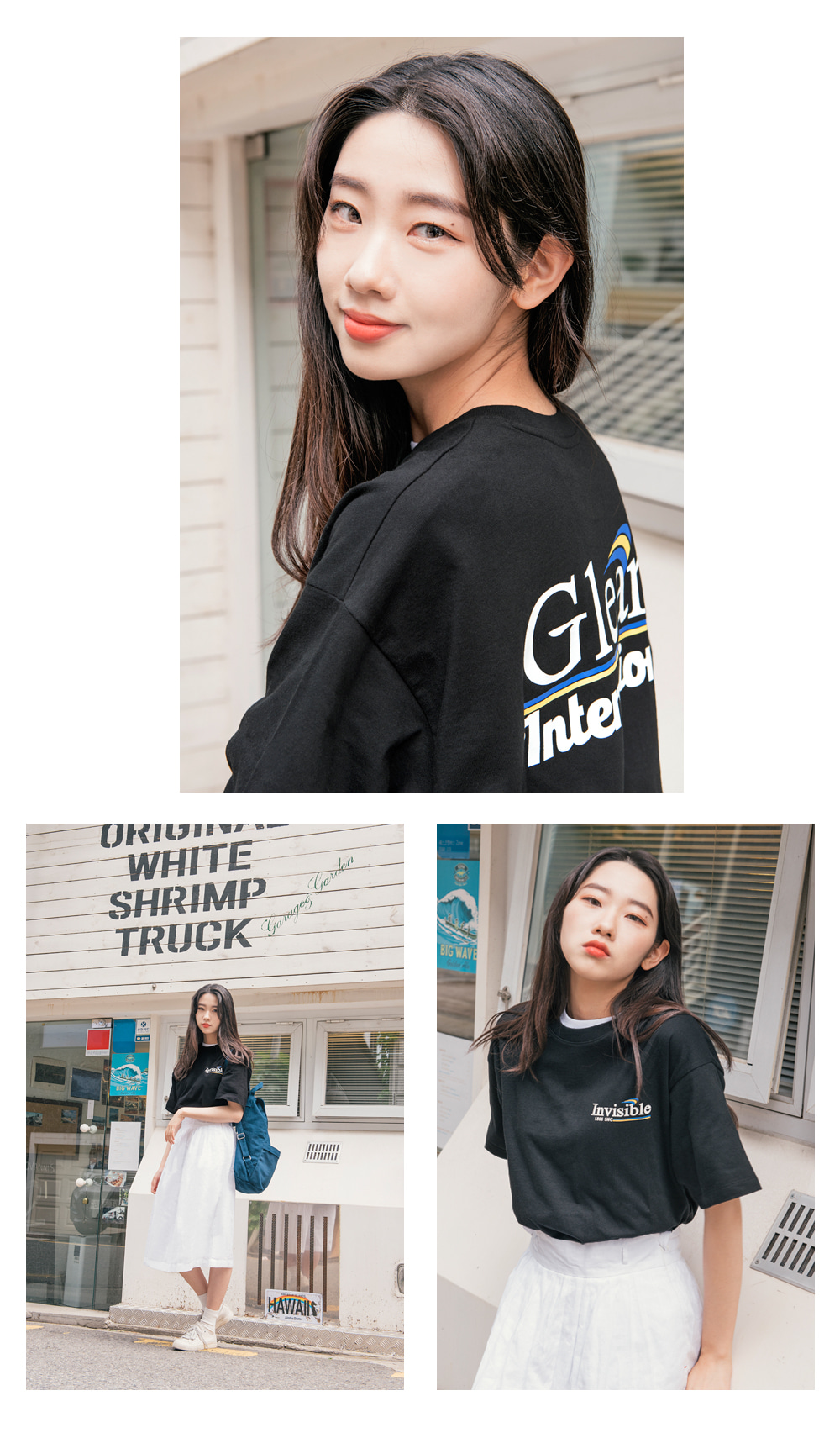 소버먼트 위드 로모트(SOVERMENT WITH LOMORT) 20s invisible tee-black-